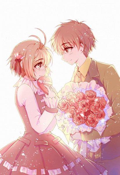 Tags: Anime, Pixiv Id 4667417, Cardcaptor Sakura, Kinomoto Sakura, Li Syaoran, Fanart, Fanart From Pixiv, Pixiv