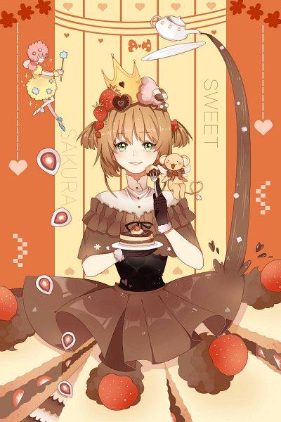 Tags: Anime, Pixiv Id 10463051, Cardcaptor Sakura, Kinomoto Sakura, Kero-chan