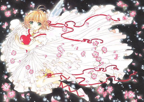 Tags: Anime, CLAMP, Cardcaptor Sakura, Cardcaptor Sakura Movie 2: Fuuin Sareta Card, Cardcaptor Sakura Illustrations Collection 3, Kinomoto Sakura, Laced Up, Official Art