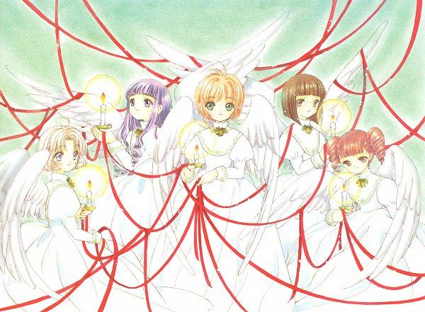Tags: Anime, CLAMP, Cardcaptor Sakura, Cardcaptor Sakura Illustrations Collection 2, Official Art, Scan