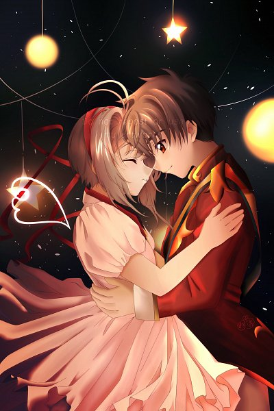 Tags: Anime, Pixiv Id 31322953, Cardcaptor Sakura, Kinomoto Sakura, Li Syaoran, Fanart, Fanart From Pixiv, Pixiv