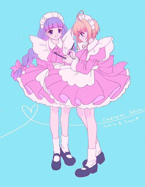 Tags: Anime, Kisumi Rei, Cardcaptor Sakura, Daidouji Tomoyo, Kinomoto Sakura, Fanart, Fanart From Pixiv, Pixiv