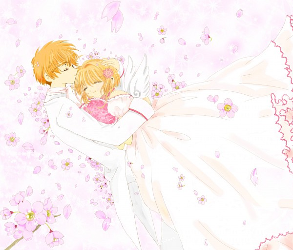 Tags: Anime, Pixiv Id 549370, Cardcaptor Sakura, Li Syaoran, Kinomoto Sakura, Fanart