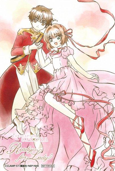 Tags: Anime, MADHOUSE, Cardcaptor Sakura, Cardcaptor Sakura Movie 2: Fuuin Sareta Card, Li Syaoran, Kinomoto Sakura, Official Art, Scan