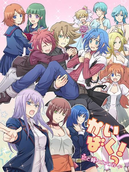 Tags: Anime, Pixiv Id 3964551, Cardfight!! Vanguard, Sendou Emi, Tatsunagi Kourin, Tokura Misaki, Tobita Mai, Narumi Asaka, Tatsunagi Suiko, Kai Toshiki, Sendou Shizuka, Usui Yuri, Tatsunagi Rekka