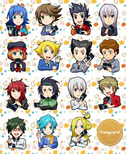 Tags: Anime, Nagakomo, Cardfight!! Vanguard, Sendou Aichi, Suzugamori Ren, Miwa Taishi, Katsuragi Kamui, Morikawa Katsumi, Tatsunagi Suiko, Nitta Shin, Yahagi Kyou, Izaki Yuuta, Tokura Misaki