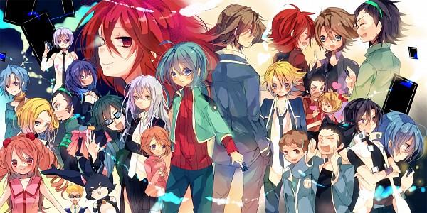 Tags: Anime, Amana Raika, Cardfight!! Vanguard, Kai Toshiki, Mark Whiting, Mutsuki Jun, Sendou Emi, Narumi Asaka, Tatsunagi Suiko, Sendou Aichi, Daimonji Nagisa, Shinjou Tetsu, Miwa Taishi