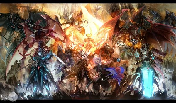Tags: Anime, Asuka Moto, Cardfight!! Vanguard, Starlight Unicorn, Holy Disaster Dragon, Bringer Of Good Luck Epona, Blaster Blade, Star Drive Dragon, Alfred Early, Solitary Knight Gancelot, Sendou Aichi, Knight of Silence Gallatin, Blaster Dark
