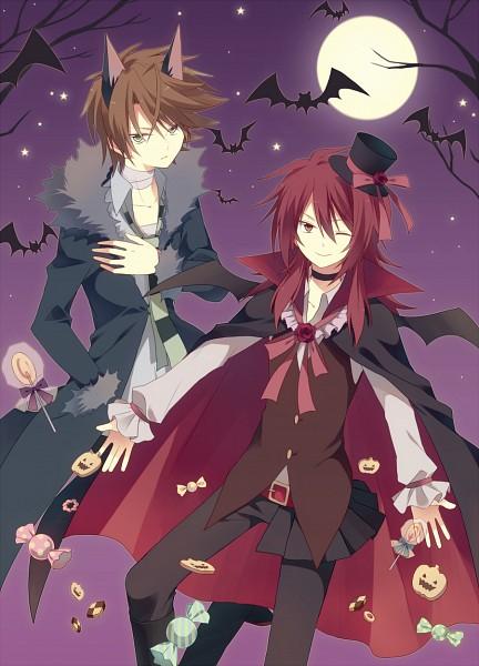 Tags: Anime, Shiroe (Pixiv 3811012), Cardfight!! Vanguard, Suzugamori Ren, Kai Toshiki, Pixiv, Fanart