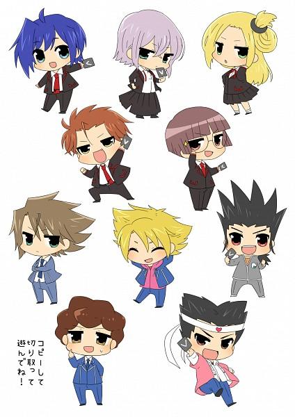 Tags: Anime, Tani (Pixiv 446857), Link Joker Hen, Cardfight!! Vanguard, Katsuragi Kamui, Sendou Aichi, Ishida Naoki, Morikawa Katsumi, Komoi Shingo, Izaki Yuuta, Tatsunagi Kourin, Tokura Misaki, Kai Toshiki