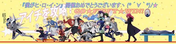 Tags: Anime, Pixiv Id 3415734, Cardfight!! Vanguard, Usui Yuri, Morikawa Katsumi, Shinjou Tetsu, Nitta Shin, Mitsusada Kenji, Izaki Yuuta, Katsuragi Kamui, Tokura Misaki, Sendou Emi, Yahagi Kyou