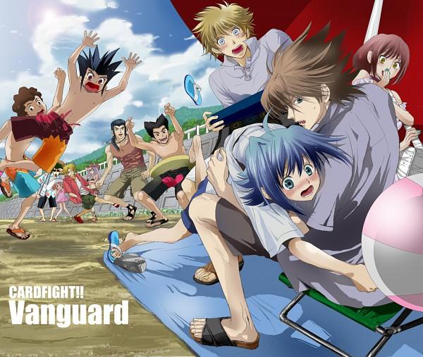 Tags: Anime, Cardfight!! Vanguard, Izaki Yuuta, Kai Toshiki, Usui Gai, Sendou Emi, Sendou Aichi, Usui Yuri, Miwa Taishi, Mitsusada Kenji, Nitta Shin, Katsuragi Kamui, Morikawa Katsumi