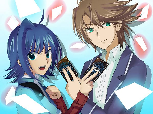 Tags: Anime, Yuu (Derodero), Cardfight!! Vanguard, Kai Toshiki, Sendou Aichi, Pixiv, Fanart