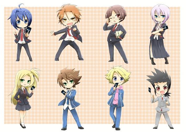 Tags: Anime, Pixiv Id 1711381, Link Joker Hen, Cardfight!! Vanguard, Tokura Misaki, Katsuragi Kamui, Kai Toshiki, Sendou Aichi, Ishida Naoki, Komoi Shingo, Miwa Taishi, Tatsunagi Kourin, School Uniform (Miyaji Academy)