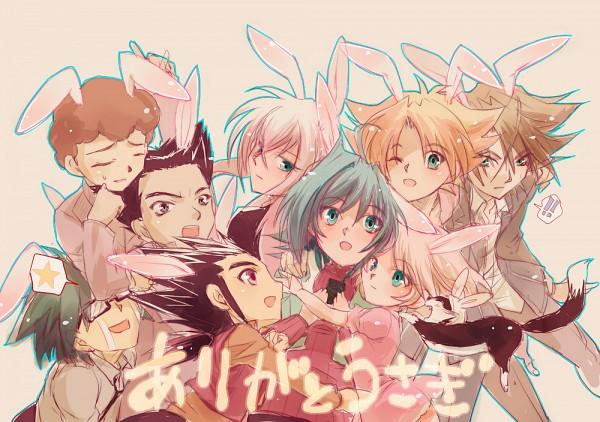 Tags: Anime, Pixiv Id 3023059, Cardfight!! Vanguard, Nitta Shin, Morikawa Katsumi, Tokura Misaki, Katsuragi Kamui, Izaki Yuuta, Kai Toshiki, Sendou Emi, Sendou Aichi, Miwa Taishi, Tenchou Dairi