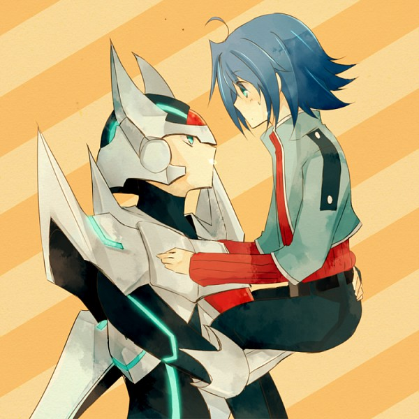 Tags: Anime, Shirases, Cardfight!! Vanguard, Blaster Blade, Sendou Aichi, Fanart, Pixiv, Royal Paladin, Vanguard Unit, Vanguard Race: Human, Team Q4
