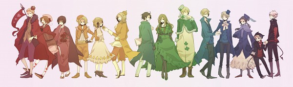 Cardverse - Axis Powers: Hetalia