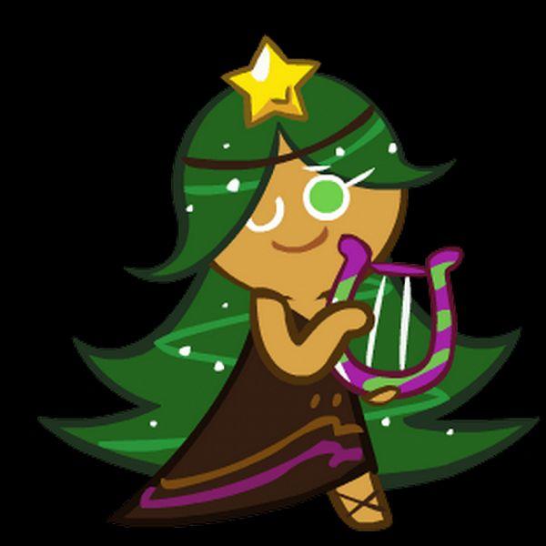Tags: Anime, Devsisters, Cookie Run, Carol Cookie, Lyre, Brown Dress, Official Art
