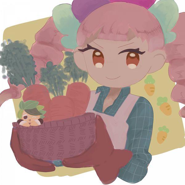Tags: Anime, Pixiv Id 3006580, Cookie Run: OvenBreak, Cookie Run, Herb Cookie, Carrot Cookie, Fanart From Pixiv, Pixiv, Fanart