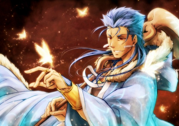 Tags: Anime, Pixiv Id 1283247, Fate/Grand Order, Caster (Cú Chulainn), Lancer (Fate/stay night), Pixiv, Fanart, Fanart From Pixiv