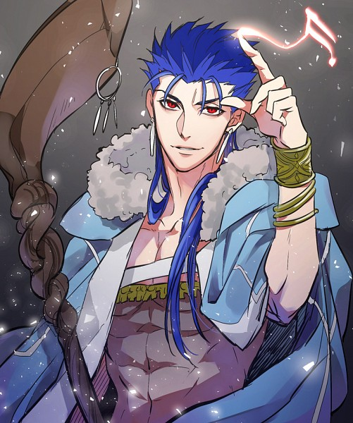 Tags: Anime, Sirou69, Fate/Grand Order, Caster (Cú Chulainn), Lancer (Fate/stay night), Fanart From Pixiv, Pixiv, Fanart