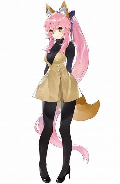 Tags: Anime, Kou Mashiro, Fate/Grand Order, Caster (Fate/EXTRA), Twitter, Fanart