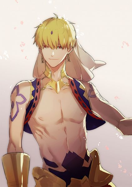 Tags: Anime, Yszx, Fate/Grand Order, Gilgamesh, Caster (Gilgamesh), Fanart From Pixiv, Pixiv, Fanart