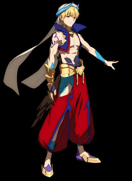 Tags: Anime, Takase Tomoaki, CloverWorks, Fate/Grand Order: Zettai Majuu Sensen Babylonia, Fate/Grand Order, Gilgamesh, Caster (Gilgamesh), Official Art