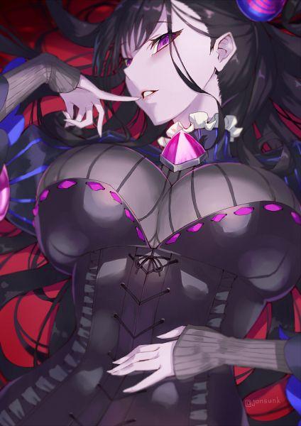 Tags: Anime, Pixiv Id 60182, Fate/Grand Order, Caster (Murasaki Shikibu), Pixiv, Fanart, Fanart From Pixiv