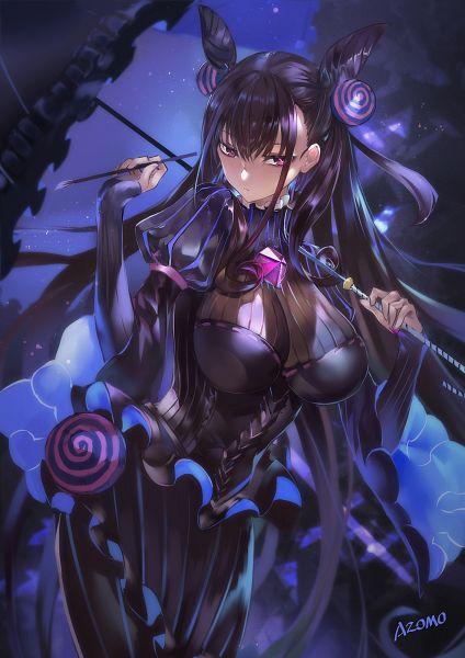 Tags: Anime, Azomo, Fate/Grand Order, Caster (Murasaki Shikibu), Fanart, Fanart From Pixiv, Pixiv