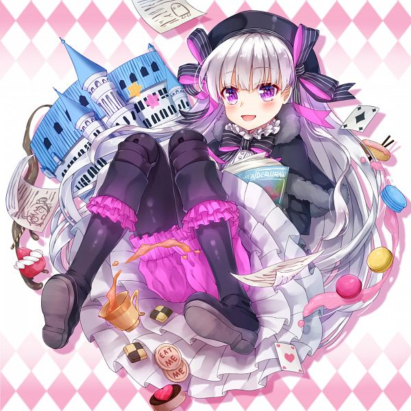 Tags: Anime, Pixiv Id 9381388, Fate/Grand Order, Caster (Nursery Rhyme)