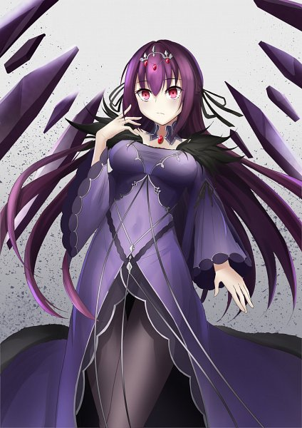 Tags: Anime, Pixiv Id 15028484, Fate/Grand Order, Lancer (Fate/Grand Order), Caster (Scathach Skadi)