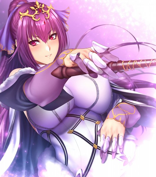 Tags: Anime, Zucchini, Fate/Grand Order, Caster (Scathach Skadi), Lancer (Fate/Grand Order), Fanart From Pixiv, Pixiv, Fanart