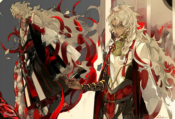 Tags: Anime, Suou, Fate/Grand Order, Caster (Solomon), Caster (Solomon) (Goetia), Goetia (Fate/Grand Order), Fanart, Fanart From Pixiv, Pixiv