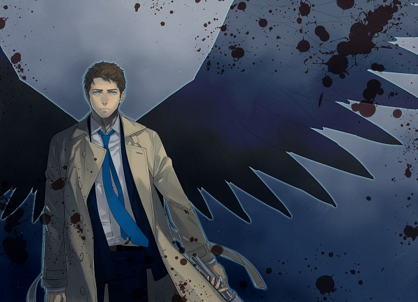 Tags: Anime, Pixiv Id 1022451, Supernatural, Castiel, Pixiv, Fanart, Fanart From Pixiv
