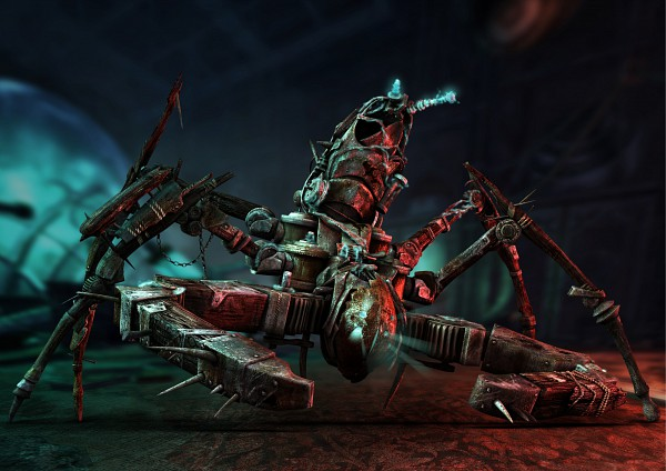 Tags: Anime, Castlevania: Lords of Shadow, Machine, 3D