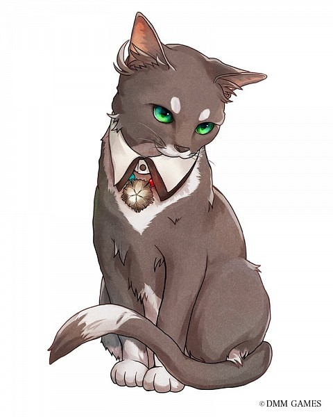 Tags: Anime, DMM Games, Bungou to Alchemist, Cat (Bungou To Alchemist), Official Art