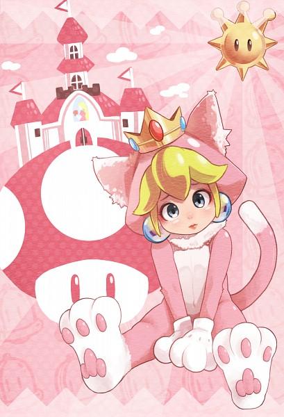 Cat Peach - Princess Peach