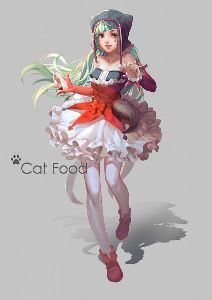 Tags: Anime, LighTofHeaveN, Project DIVA F, VOCALOID, Hatsune Miku, Mobile Wallpaper, PNG Conversion, Fanart, Project DIVA Pierreta, Catfood (VOCALOID), Pixiv, Fanart From Pixiv