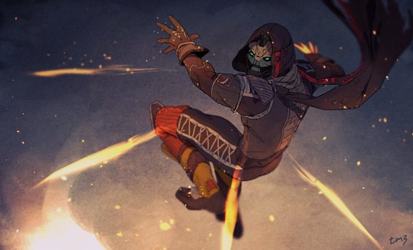 Tags: Anime, Pixiv Id 103019, Destiny (Game), Cayde-6, Pixiv, Fanart, Fanart From Pixiv