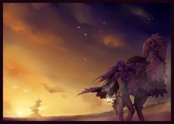 Tags: Anime, Torigoe Takumi, Final Fantasy VI, Chocobo, Celes Chere, Pixiv