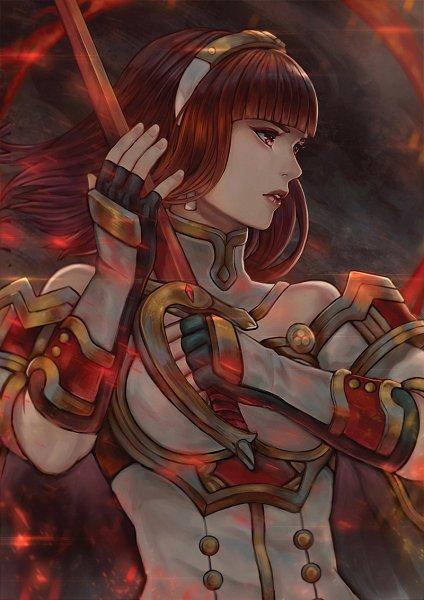 Tags: Anime, Pixiv Id 3592429, Fire Emblem Gaiden, Cellica (Fire Emblem), Celica (fire Emblem)