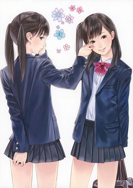 Tags: Anime, Kishida Mel, Cellophane, Scan, Comic Market 81, Original, Mobile Wallpaper