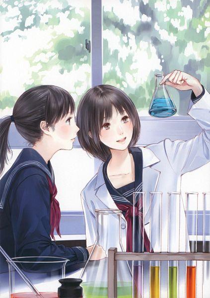Tags: Anime, Kishida Mel, Cellophane, Chemical, Original, Scan, Comic Market 81, Mobile Wallpaper