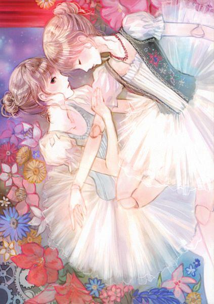 Tags: Anime, Kishida Mel, Cellophane, Original, Mobile Wallpaper, Scan, Comic Market 81
