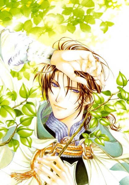 Tags: Anime, Yuu Higuri, Cantarella (Manga), Cesare Borgia (Cantarella), Official Art