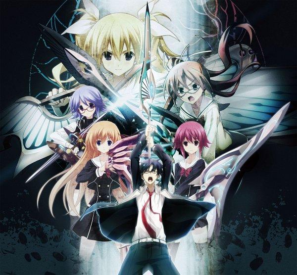 Tags: Anime, Sasaki Mutsumi, 5pb. (Studio), Nitro+, ChäoS;Child, Kazuki Hana, Arimura Hinae, Miyashiro Takuru, Yamazoe Uki, Onoe Serika, Kurusu Nono, Official Art