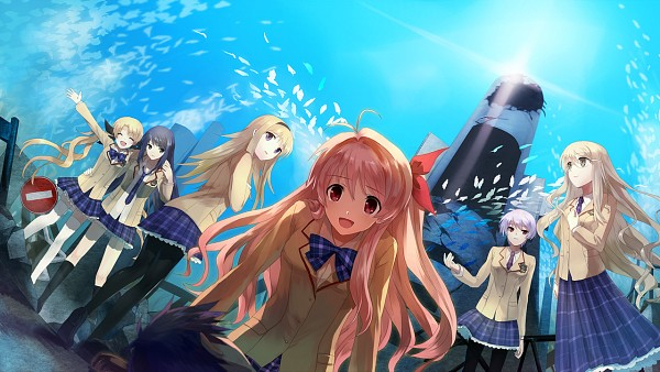Tags: Anime, Shion (Kizuro), Nitro+, 5pb. (Studio), ChäoS;HEAd, Aoi Sena, Sakihata Rimi, Kishimoto Ayase, Nishijou Nanami, Nishijou Takumi, Orihara Kozue, Kusunoki Yua, Harem