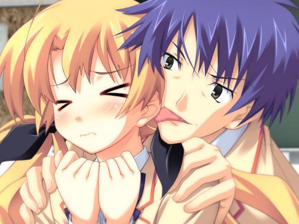 Tags: Anime, Nitro+, ChäoS;HEAd, Nishijou Takumi, Orihara Kozue