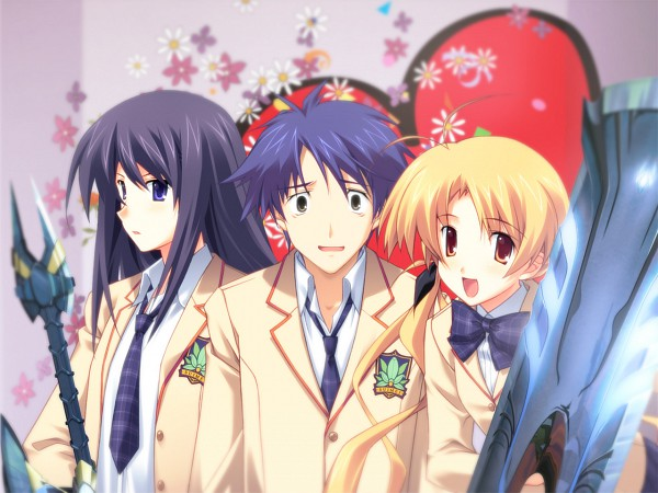 Tags: Anime, Nitro+, ChäoS;HEAd, Aoi Sena, Nishijou Takumi, Orihara Kozue